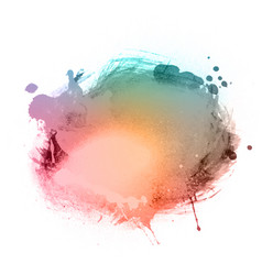 Watercolour splatter vector