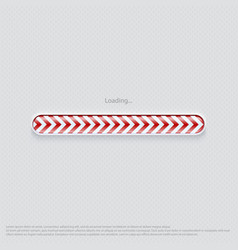 loading web design red vector image