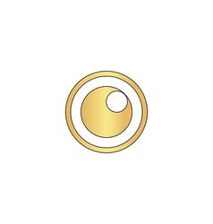 Pupil computer symbol vector