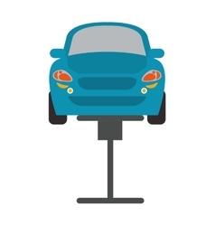 Car repair automobile design vector