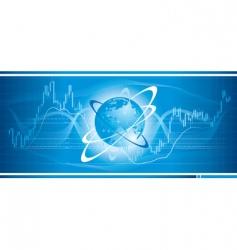 global trade vector image