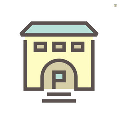 Business training school icon design for vector