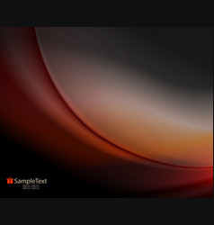 Exquisite design of warm shades with smooth vector