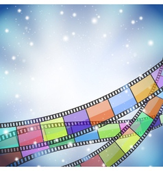film background vector image