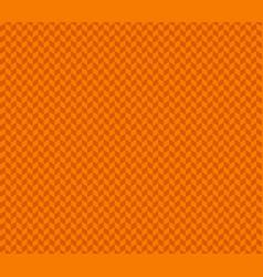 orange herringbone check pattern vector image