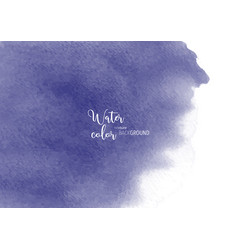 purple stain watercolor texture background vector image