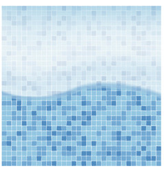 swimming pool water background vector image