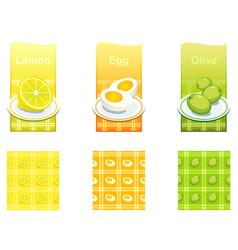 foodthings vector image