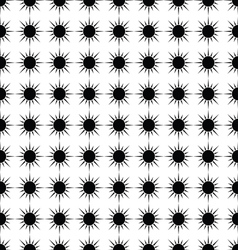 Sun seamless pattern abstract background vector