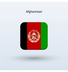 Afghanistan flag icon vector image