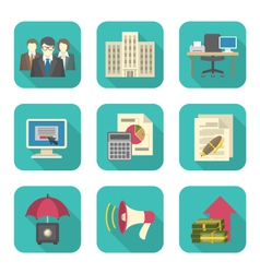 Business Costs Icons vector image