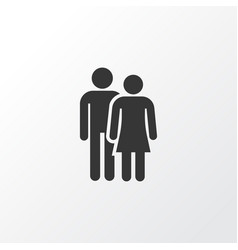couple icon symbol premium quality isolated vector image