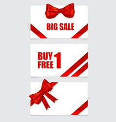 End of year sale savings labels set Modern Style vector