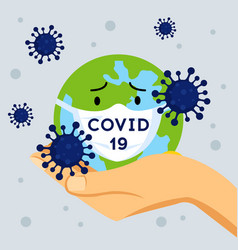 Novel coronavirus 2019-ncov virus covid19 19-ncp vector