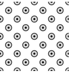 Photographic objective pattern vector