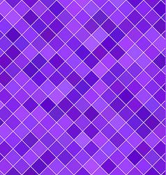 Purple square pattern background vector