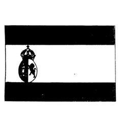 spain 1923 vintage vector image