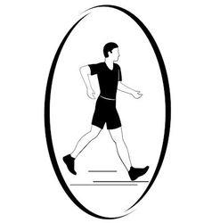 Athletics Racewalking vector image vector image