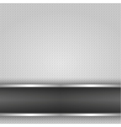 Metal surface iron vector image vector image