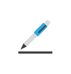 contract flat icon symbol premium quality vector image