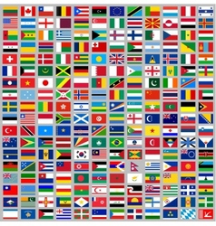 216 flags all world vector