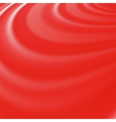 Abstract Glowing Red Waves vector image vector image