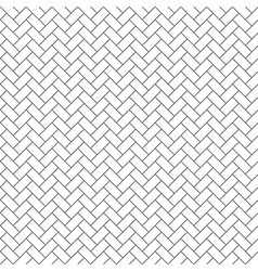 parquet diagonal seamless pattern vector image vector image
