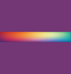 Panoramic smooth and blurry colorful gradient vector