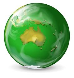 Green earth vector