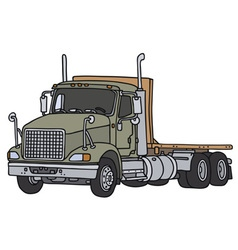 Big lorry vector