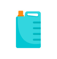 Cleaner canister icon flat style vector