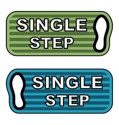 Imprint single step labels vector