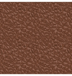 Leather brown seamless texture vector