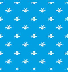 painting tool tube pattern seamless blue vector image
