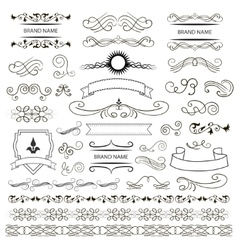 Set of graphic elements for design vector