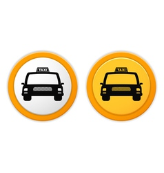 Taxi Icons vector image