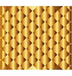 Golden Textured Background vector image