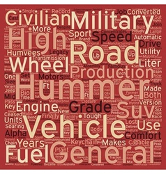 Military Grade Toughness Yet Comfortably Civilian vector image vector image