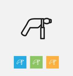 Of tools symbol on electric vector