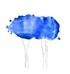 Watercolor texture vector image