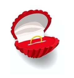Wedding ringMake an offer vector image