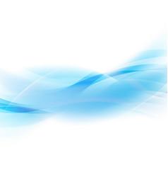 blue line vector image
