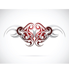 Ethnic tattoo design vector