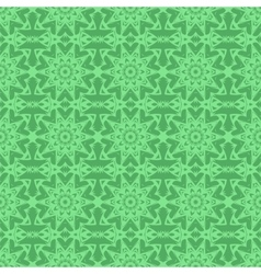 Green Endless Texture Oriental Geometric Ornament vector