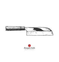 kamagata-usuba vector image