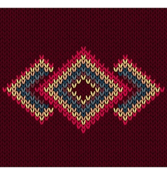 Style Abstract Trendy Seamless Symmetric Ethnic Ge vector