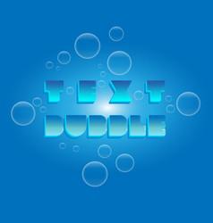 text bubble vector image
