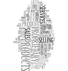 Your own products can make you rich text word vector