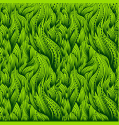 waves gradient grass vector image