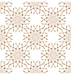 pattern with ornament on grunge background vector image vector image